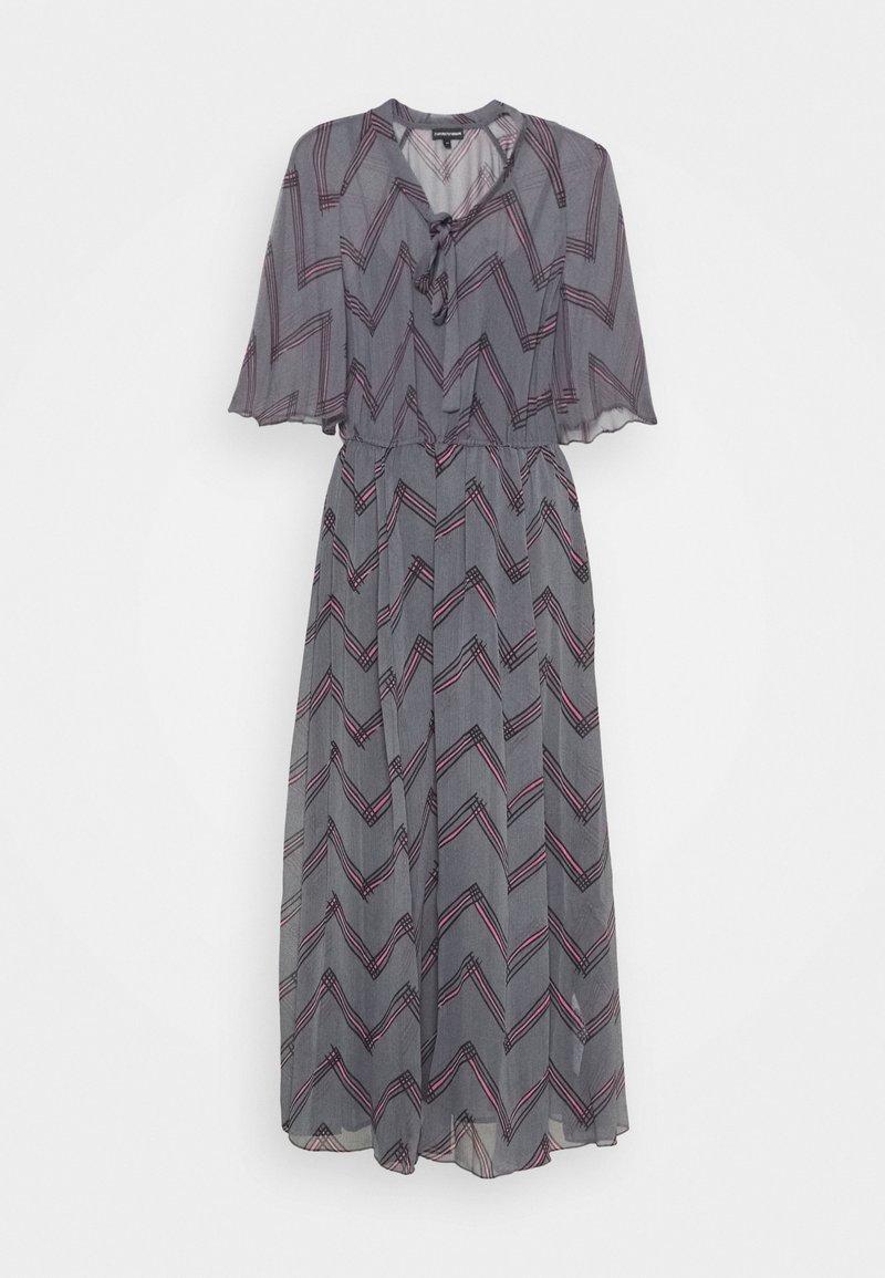 Emporio Armani - DRESS - Maxi dress - grigio vinile
