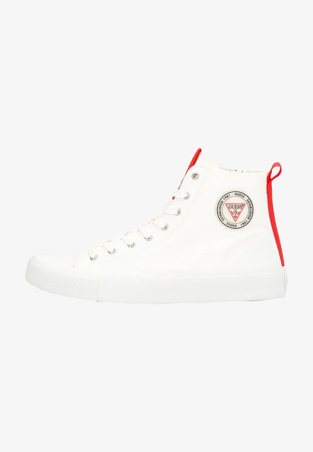 EDERLE HI - High-top trainers - white red