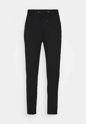 Pintuck Pleat - Pantalon de survêtement - black
