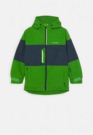 KIDS SNOW CUP JACKET - Snowboardová bunda - parrot green
