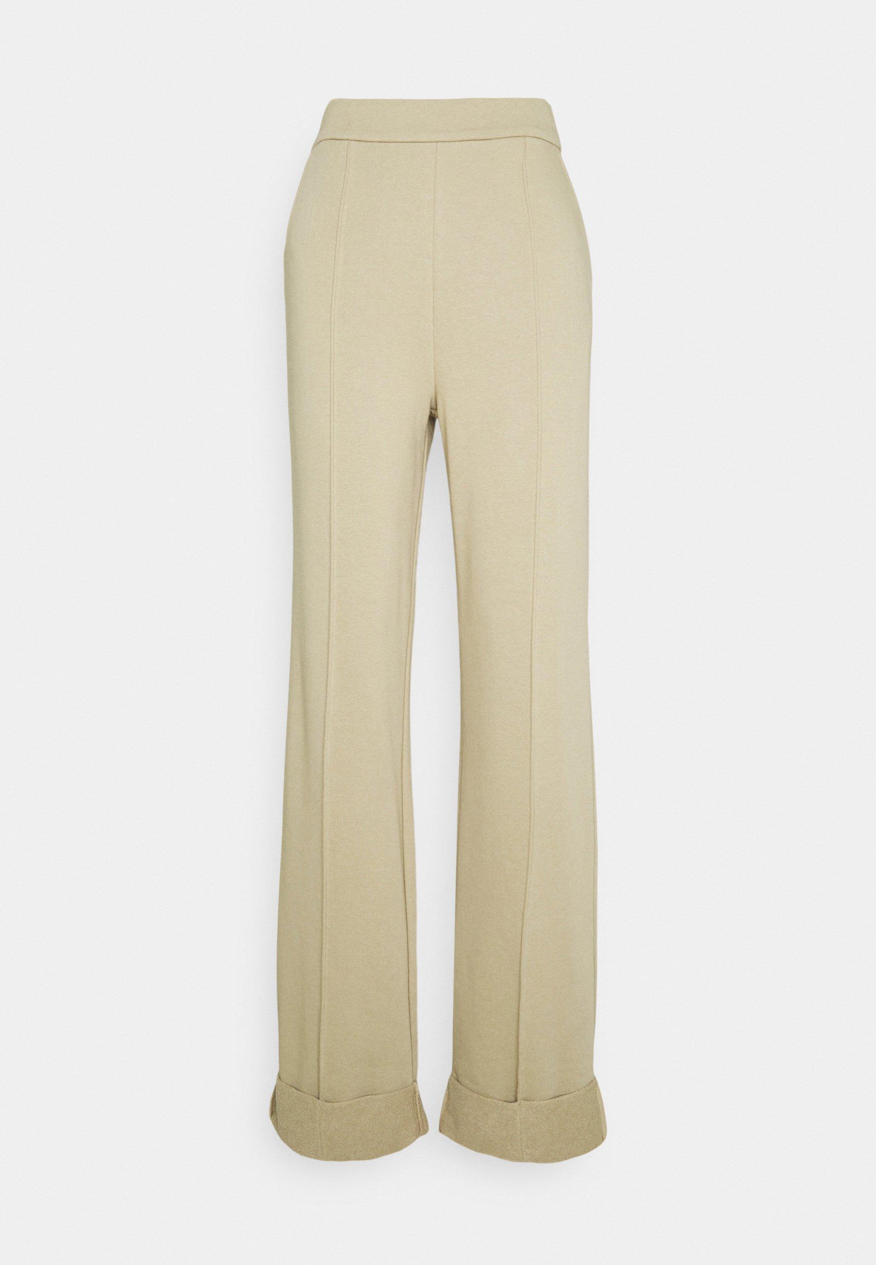 Women WIDE LEG PANTS - Tracksuit bottoms