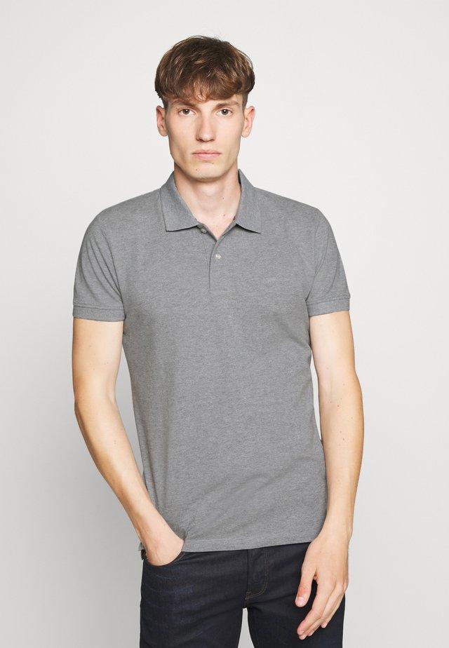 Polo - medium grey