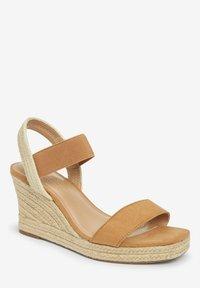 Next - High heeled sandals - brown - 1