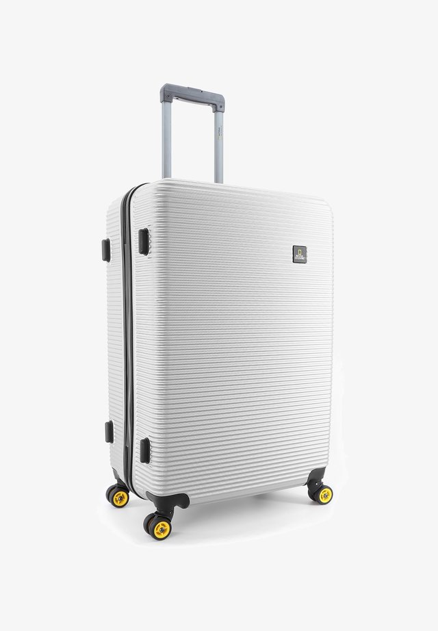 ABROAD - Wheeled suitcase - silber