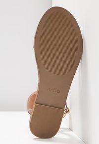 ALDO - CAMPODORO - Sandals - cognac - 6