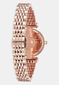 Emporio Armani - GIANNI T-BAR - Hodinky - rose gold-coloured - 1