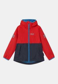 Jack Wolfskin - RAINY DAYS UNISEX - Waterproof jacket - peak red - 0
