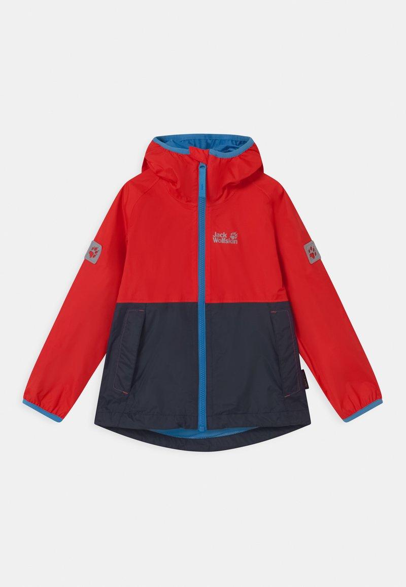 Jack Wolfskin - RAINY DAYS UNISEX - Waterproof jacket - peak red