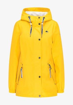 Waterproof jacket - sonnengelb