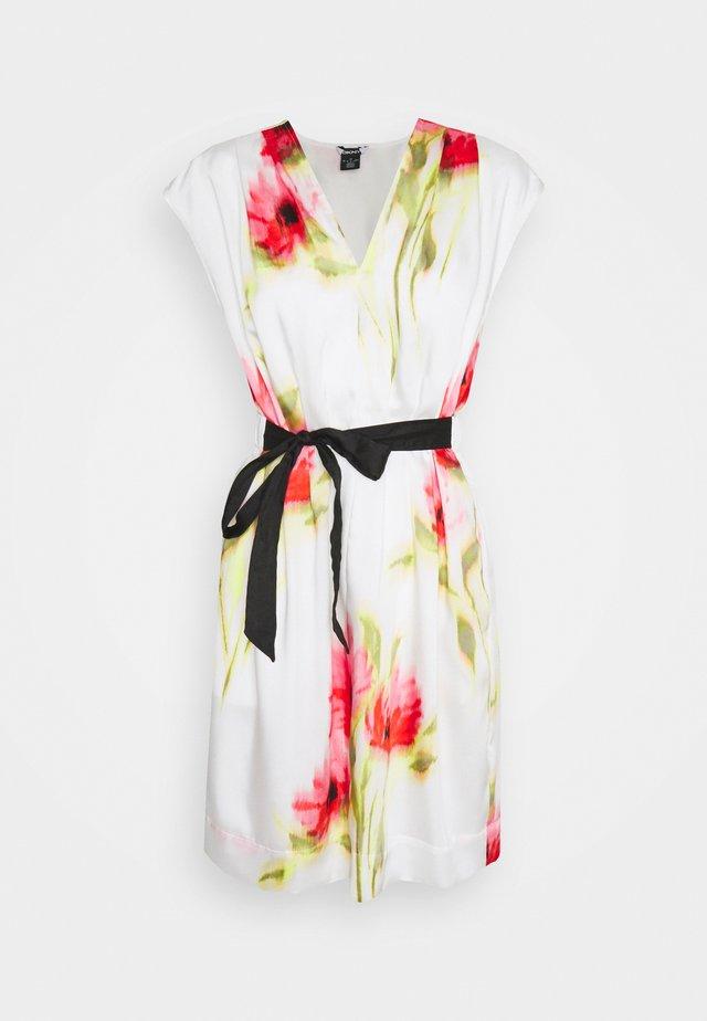Korte jurk - ivory/multi