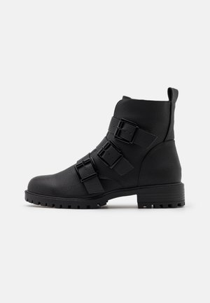 BOYD - Lace-up ankle boots - black