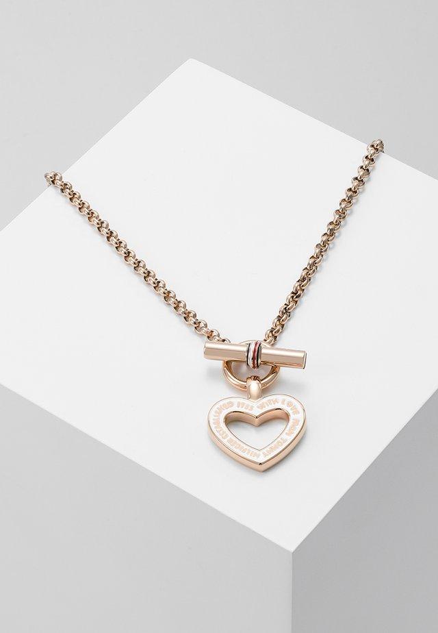 FINE - Necklace - rose-coloured