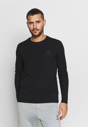 HMLSIGGE - Langærmede T-shirts - black