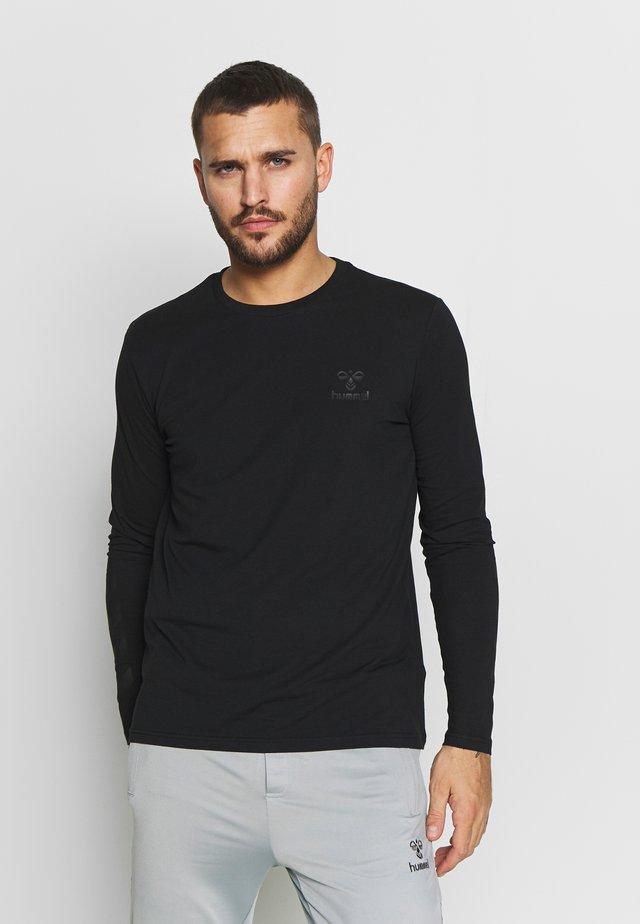 HMLSIGGE - T-shirt à manches longues - black