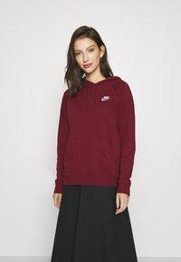 Nike Sportswear - HOODIE - Hoodie - dark beetroot - 0