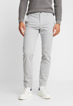 SLIM FIT FLEX PANT - Pantalon classique - grey