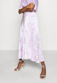 Guess - ARIELLE SKIRT - A-line skirt - purple - 0