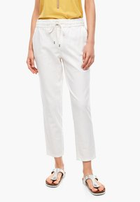 s.Oliver - Trousers - offwhite - 6