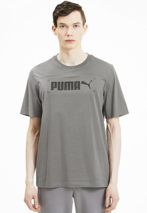 NU TILITY GRAPHIC - Print T-shirt - ultra gray