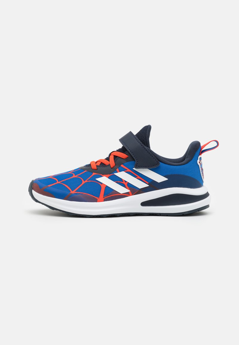 adidas Performance - FORTARUN SPIDERMAN UNISEX - Neutral running shoes - blue/legend ink/bold orange