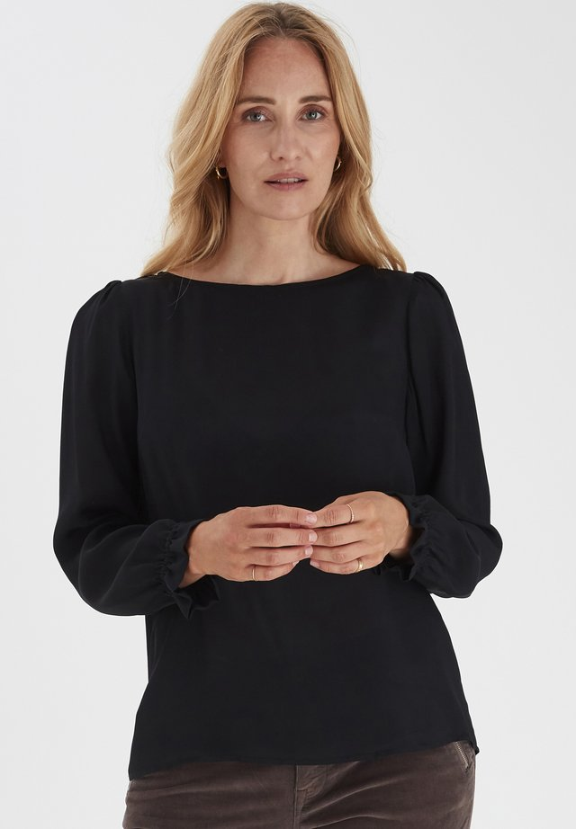 PZPARIS  - Blouse - black beauty