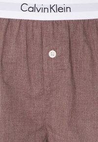 Calvin Klein Underwear - SLEEP SHORT - Pyjama bottoms - plum dust heather - 2