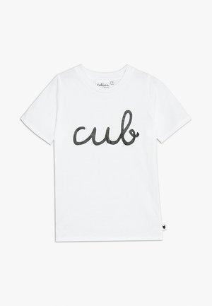 BABY CUB TEE - T-shirt print - white