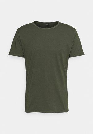 T-shirt - bas - dark military