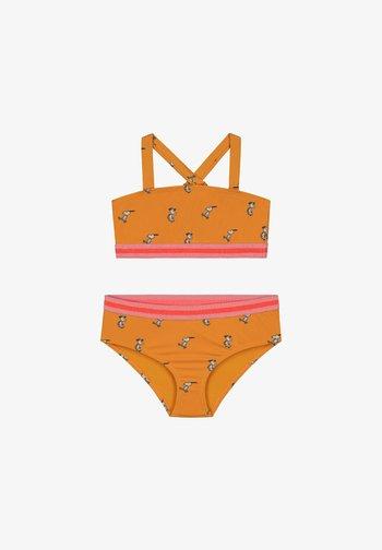 HAPPY SKATER - Bikini - satsuma spritz yellow