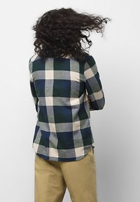 Vans - MN BOX FLANNEL - Shirt - dress blues/scarab - 1