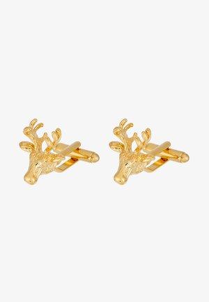 IKE - Cufflinks - shiny gold-coloured