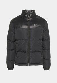 CONTRAST JACKET - Winter jacket - black