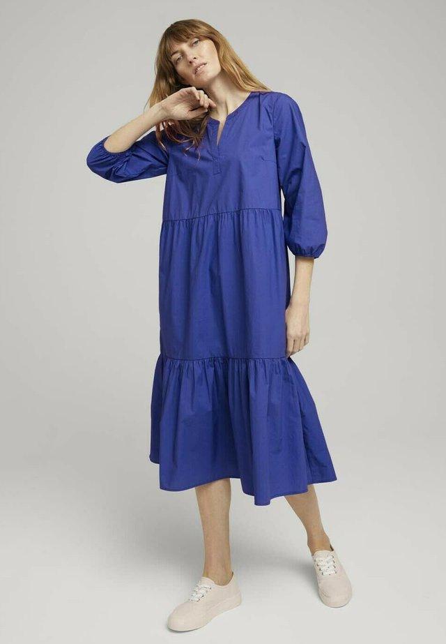 Sukienka letnia - anemone blue