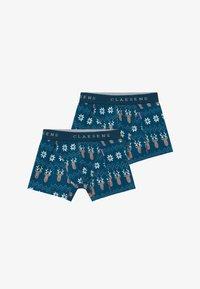 Claesen's - BOYS 2 PACK - Pants - royal blue/white - 3