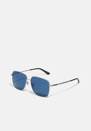 UNISEX - Sluneční brýle - silver-coloured/blue