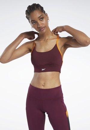 WORKOUT READY LOW-IMPACT TRI - Sports-BH - burgundy