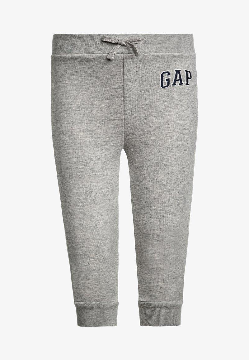 GAP - TODDLER BOY LOGO - Trousers - light heather grey