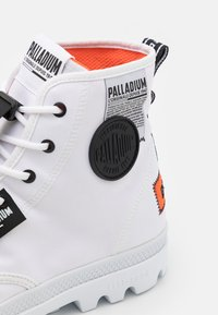 Palladium - PAMPA LITE OVERLAB UNISEX - High-top trainers - white - 5
