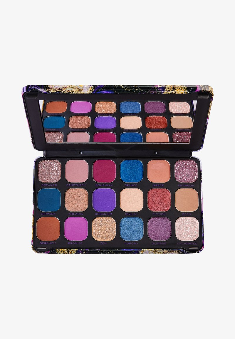 Make up Revolution - EYESHADOW PALETTE FOREVER FLAWLESS EUTOPIA - Palette fard à paupière - multi