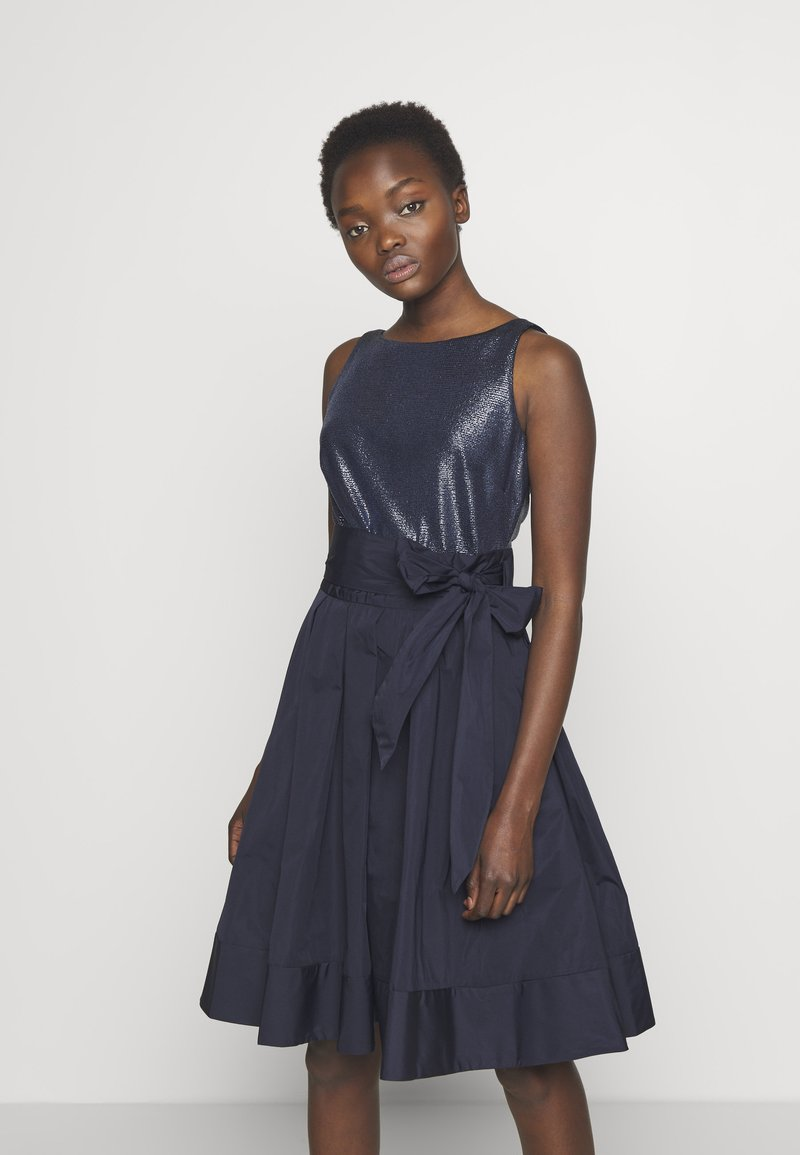 Lauren Ralph Lauren - MEMORY TAFFETA DRESS COMBO - Vestido de cóctel - lighthouse navy