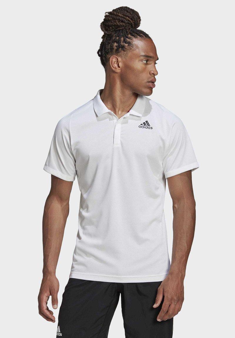 adidas Performance - FREELIFT TENNIS POLO SHIRT HEAT.RDY - Polo shirt - white
