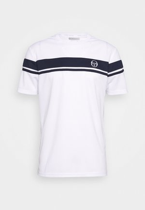 YOUNG LINE PRO T-SHIRT - Print T-shirt - white/navy