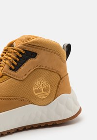 Timberland - SOLAR WAVE MID - High-top trainers - wheat - 5
