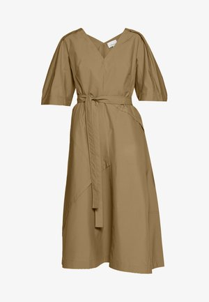 BALLOON SLEEVE DRESS - Day dress - cedar