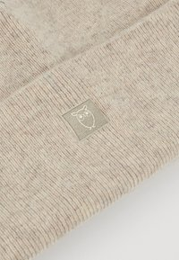 Knowledge Cotton Apparel - LEAF BEANIE UNISEX - Berretto - off-white - 4