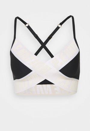 FRONT RUNNER BRA - Medium support sports bra - black