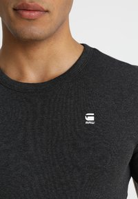 G-Star - DAPLIN - Print T-shirt - black heather - 4