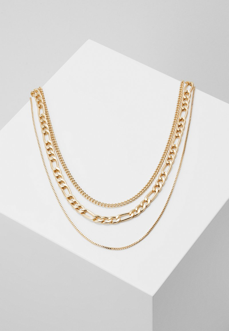 Weekday - UNITY NECKLACE 3 PACK - Ketting - gold-coloured