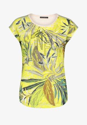 Blouse - green/yellow