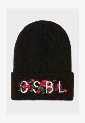CSBL VENETIAN BEANIE - Beanie - black red
